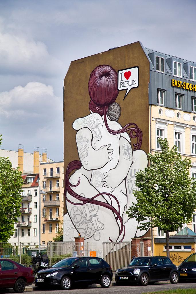 Graffiti I love Berlin