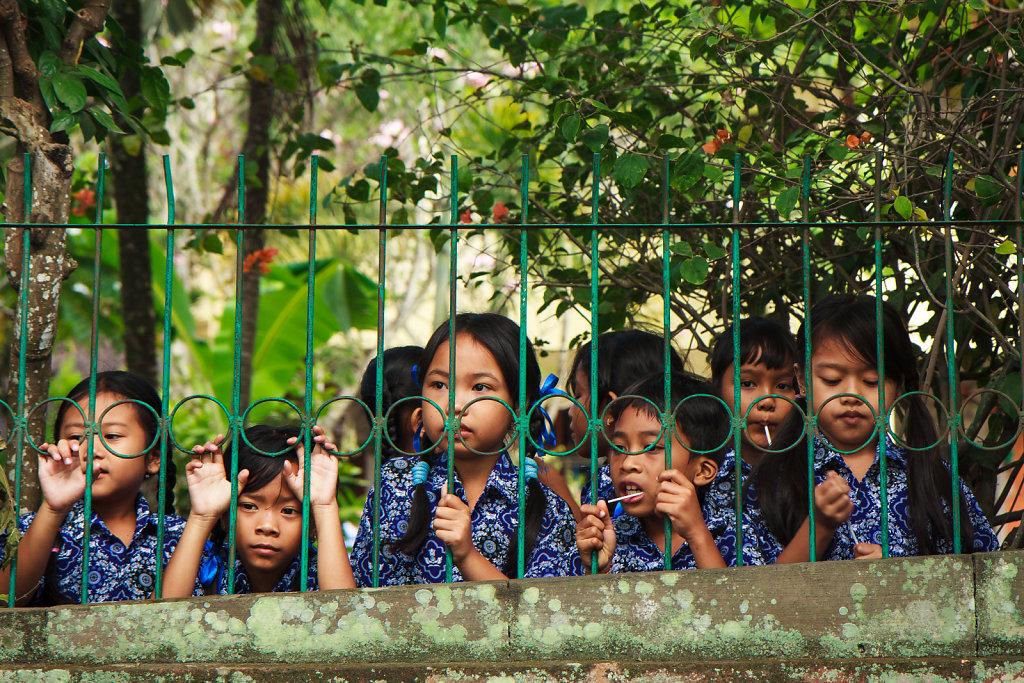 Students in Ubud